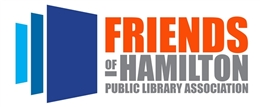 Image of the Friends of the Hamilton Library logo